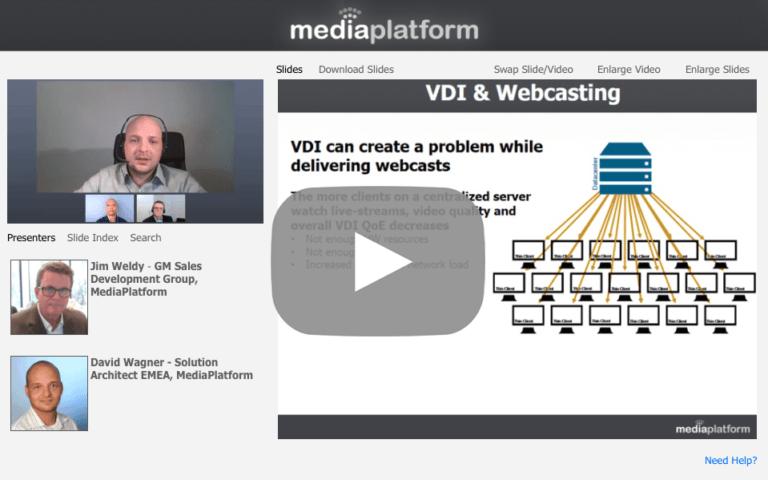 Citrix-Ready Webcasting with MediaPlatform