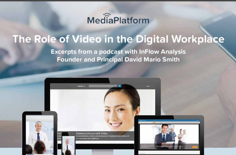 The Role of Video in the Digital Workplace