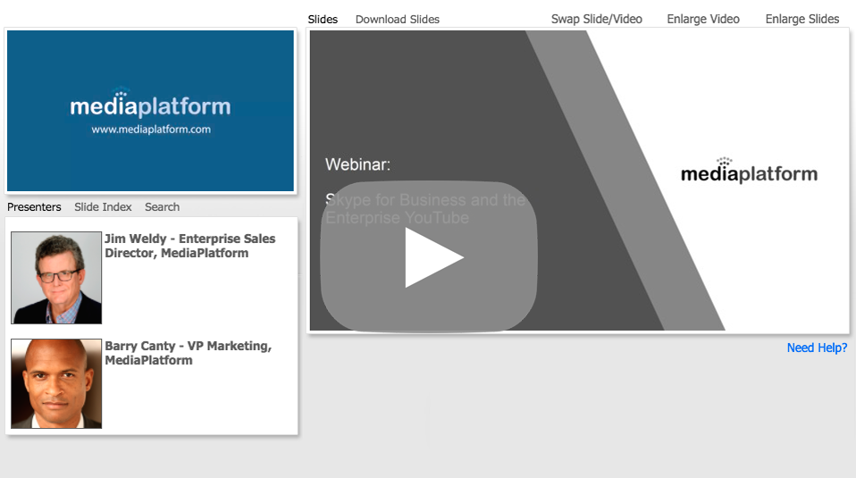 Skype for Business and the Enterprise YouTube