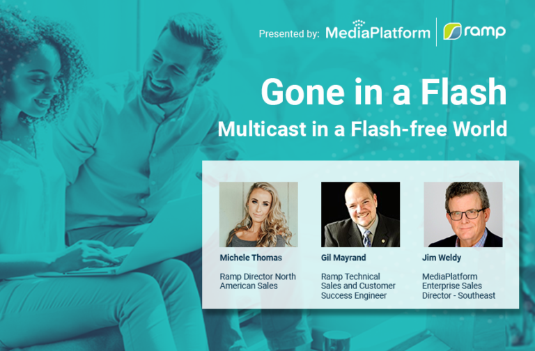 Multicast in a Flash-free World Webinar