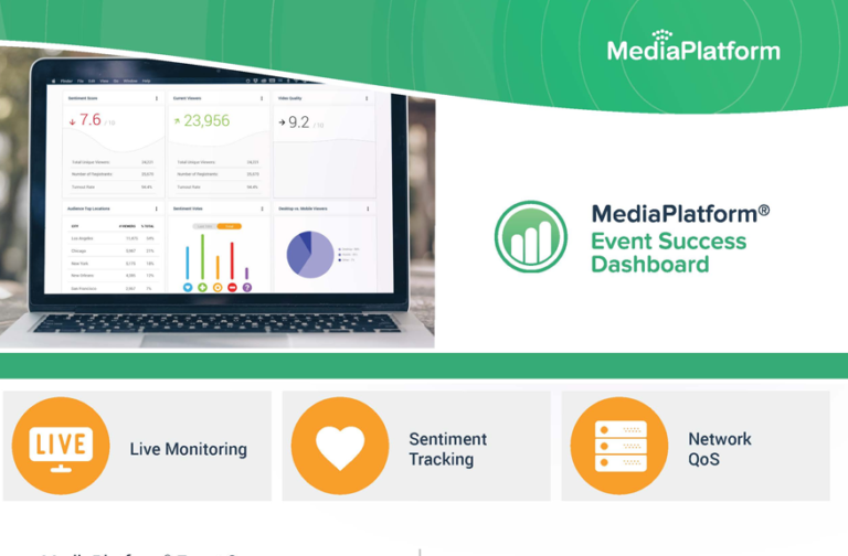 MediaPlatform Event Success Dashboard