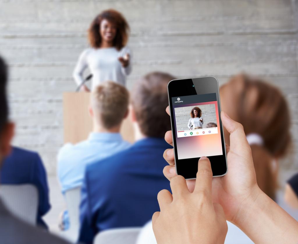 Event Success Dashboard Webcast Presenter