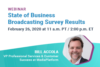 Webinar:  Exclusive Insights into World's Largest Live Webcasting Users